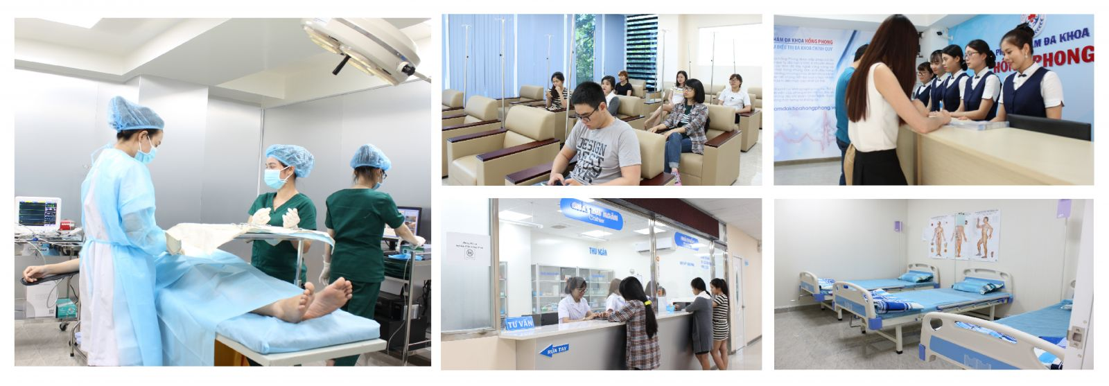 Phòng Khám Đa Khoa Hồng Phong cơ sở khám chữa bệnh xã hội uy tín
