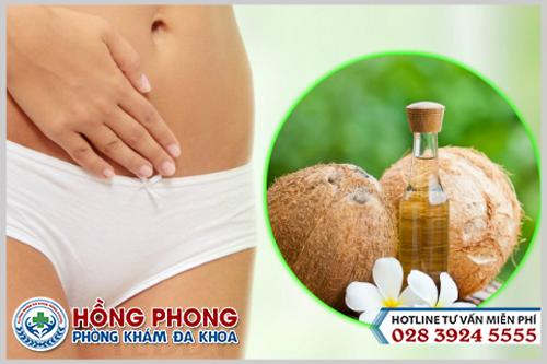 Dùng dầu dừa làm hồng vùng kín liệu có hiệu quả và an toàn