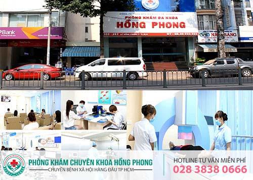 Phòng Khám Đa Khoa Hồng Phong điều trị bệnh lậu hiệu quả