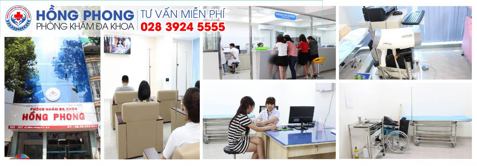 Phòng Khám Đa Khoa Hồng Phong địa chỉ điều trị bệnh xã hội uy tín tại TP HCM