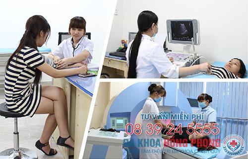 Thăm khám và điều trị vô sinh tại bệnh viện Hồng Phong