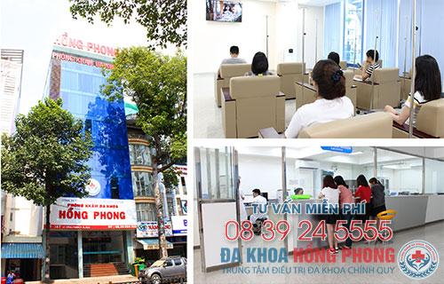 Đa khoa Hồng Phong-Bệnh viện phụ khoa hàng đầu TP.HCM