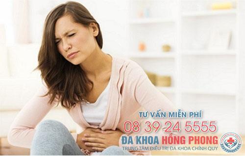 Có thế xuất hiện đau bụng dữ dội khi phá thai bằng thuốc