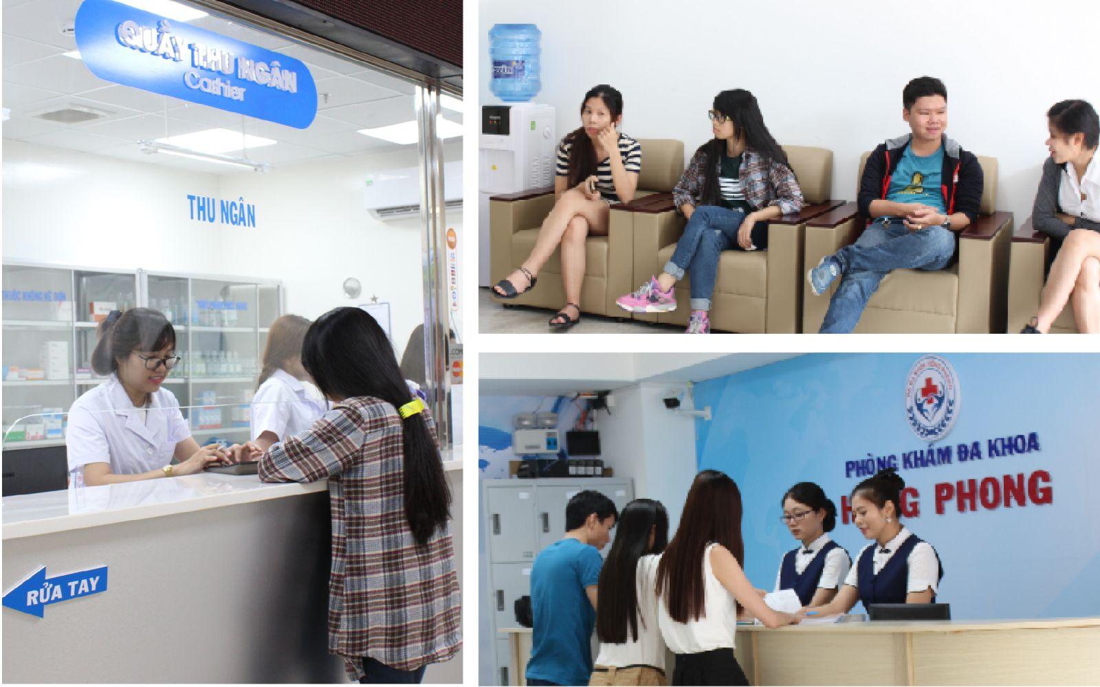 Điều trị bệnh xã hội tại Đa khoa Hồng Phong
