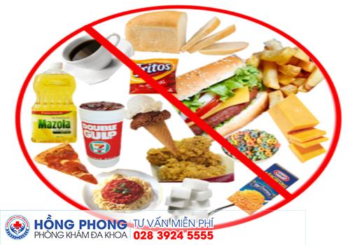 Những loại thực phẩm không nên ăn khi mắc bị huyết trắng