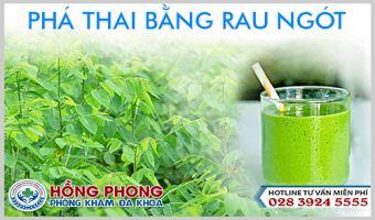 Cách Phá Thai Bằng Rau Ngót Có Nguy Hiểm Hay Không