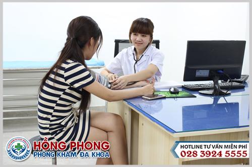 Khám phụ khoa tại Phòng khám Đa khoa Hồng Phong