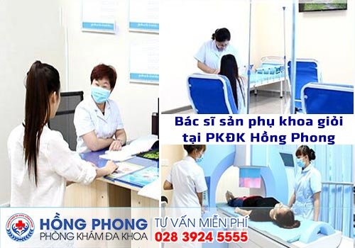 Bác sĩ sản phụ khoa giỏi tại PKĐK Hồng Phong