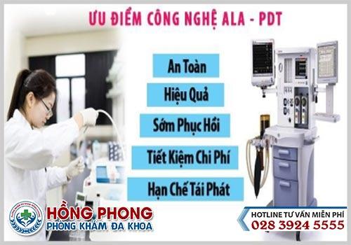 Công nghệ ALA PDT trong điều trị sùi mào gà