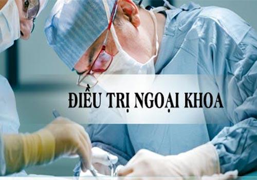 Điều trị ngoại khoa