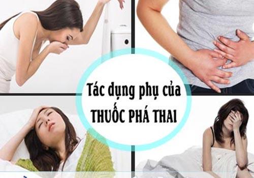 Tác dụng phụ của thuốc phá thai